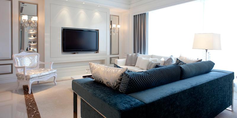 三室一厅北欧风格客厅装修效果图片