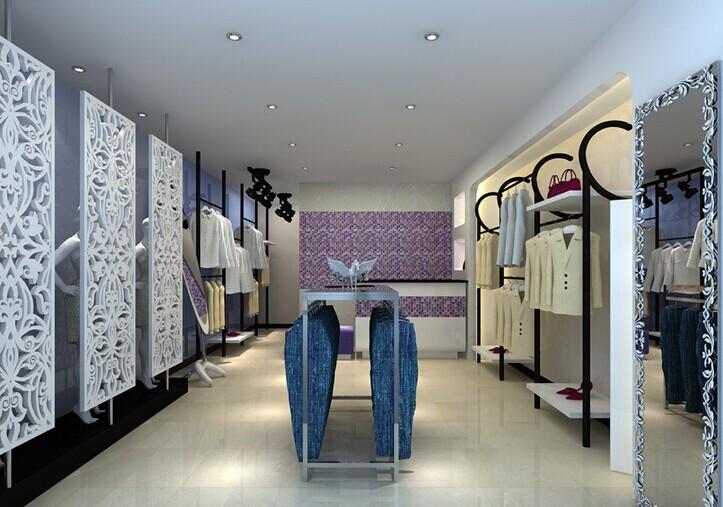 重庆工装之服装店装修风格及装修效果图欣赏高清图片