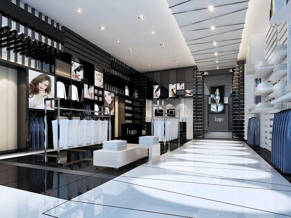 重庆工装之服装店装修风格及装修效果图欣赏