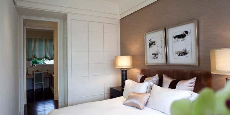 金茂珑悦两室一厅现代简约风格装修案例效果图图片