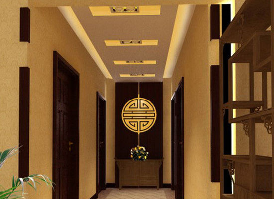 走廊吊顶装修注意事项及走廊吊顶装修效果图欣赏