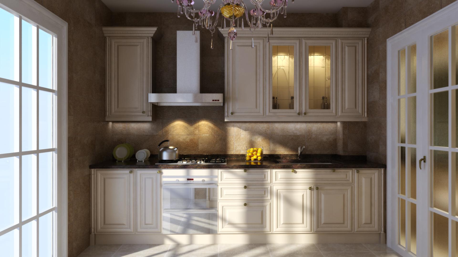 打造完美欧式厨房 欧式厨房效果图欣赏