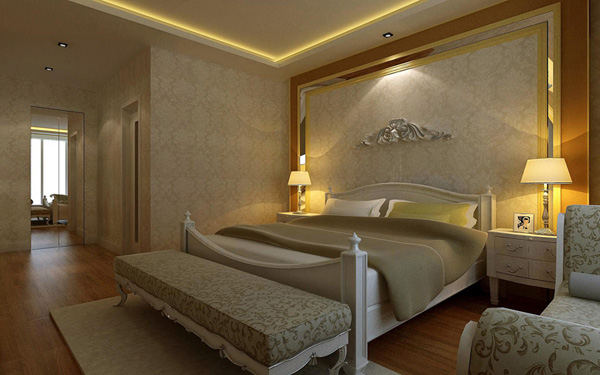 卧室灯光设计效果图