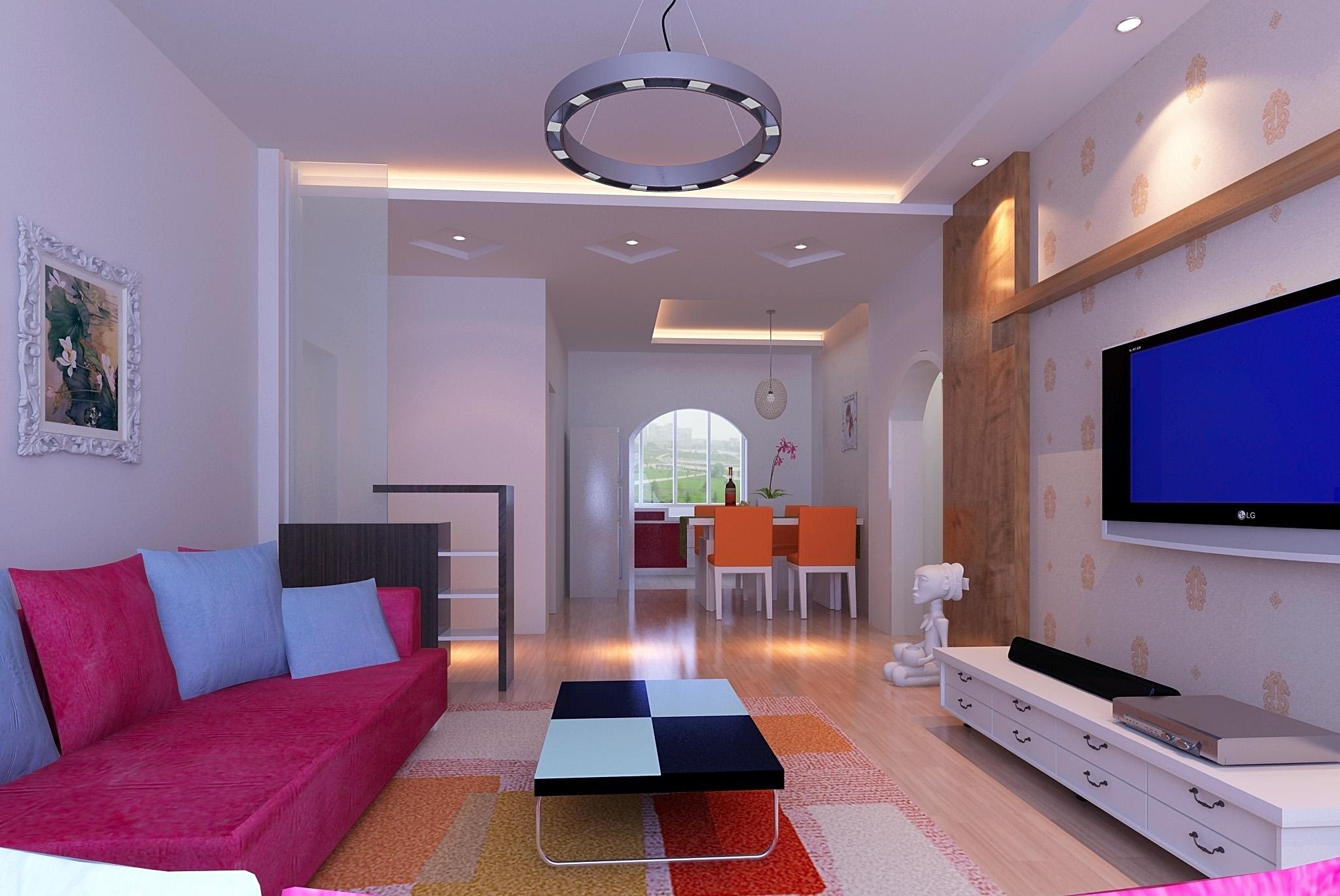 121平方房子裝修設計圖